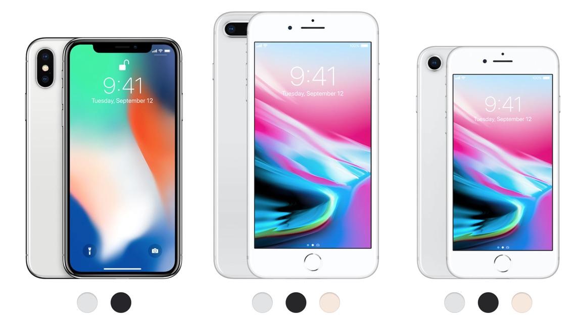 Hvad Er Forskellen På Iphone X Og 8