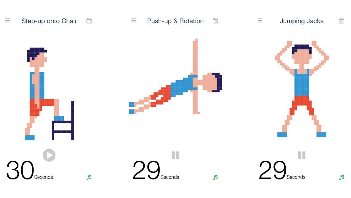 7 minutters træning