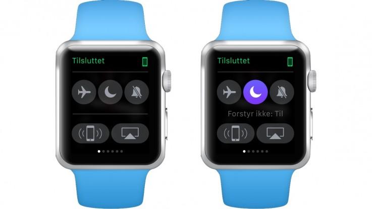 Forstyr ikke på Apple Watch. Foto: Martin Wolsing