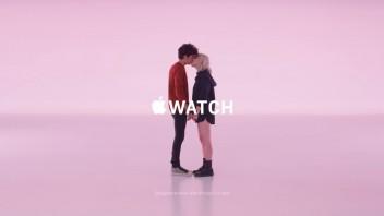 Apple Watch-reklame: Kiss
