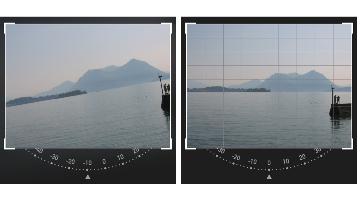 iPhone-fotoskolen: Rette op på skævt billede