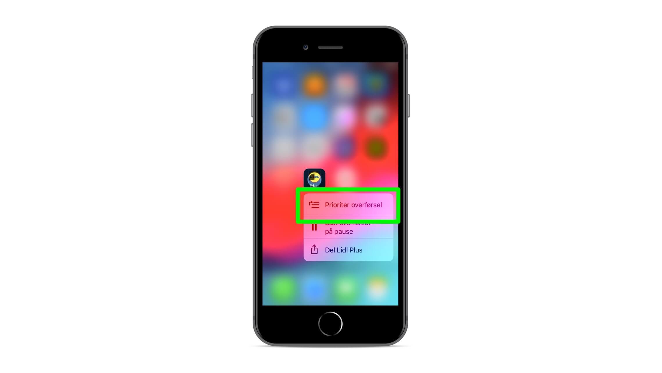 Opdatering af iphone