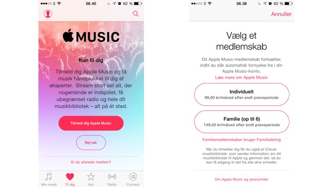 Igang med Apple Music 1