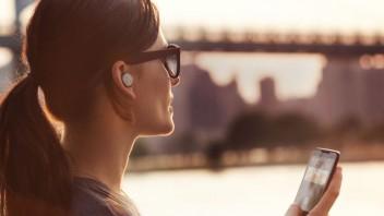Motorola Hint trådløse høretelefoner.