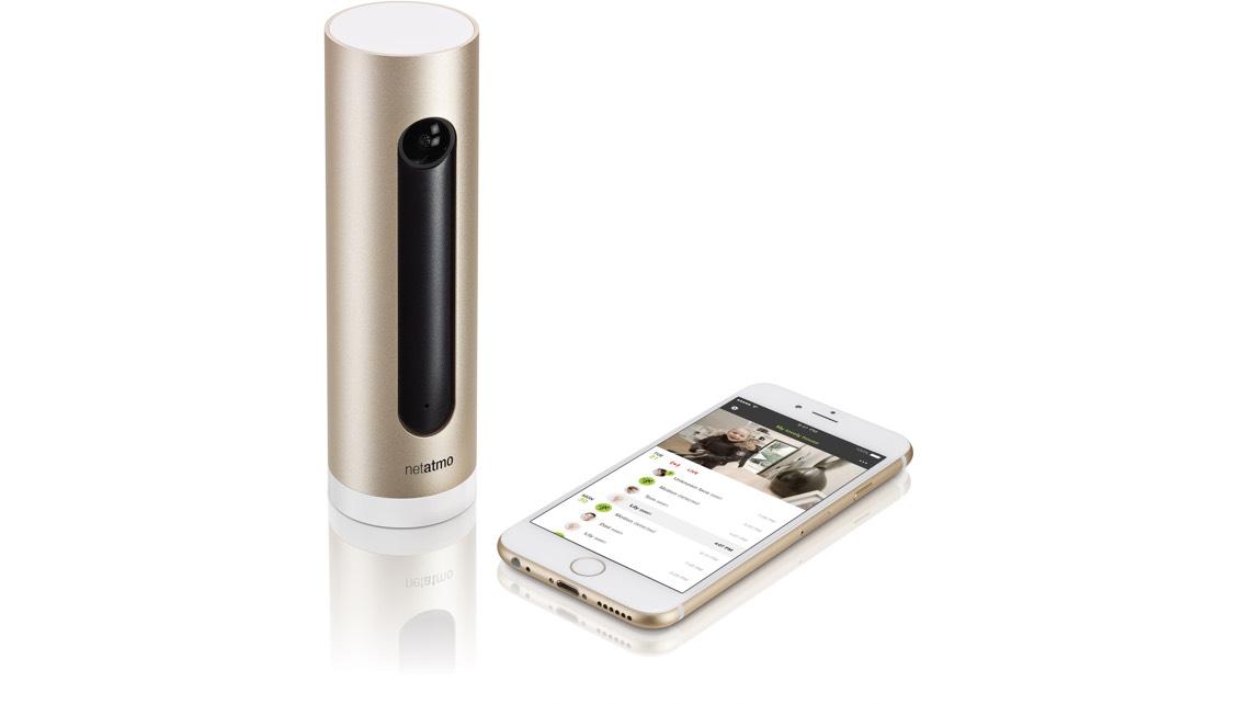 NetAtmo Welcome og iPhone