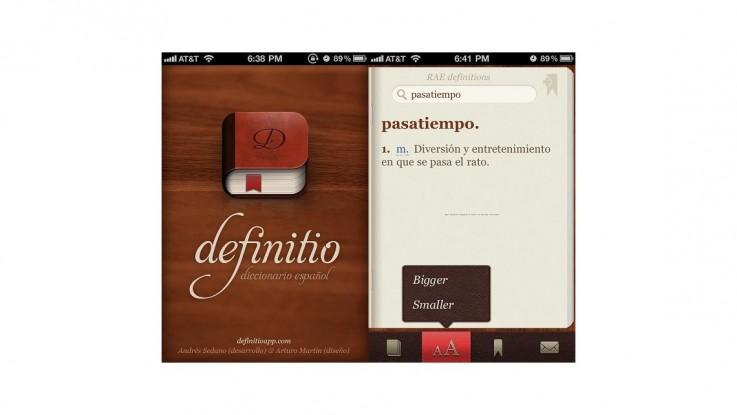 Gratis spansk ordbog til din iPhone   ON X