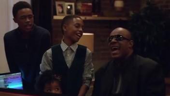 Stevie Wonder i reklame for Apple