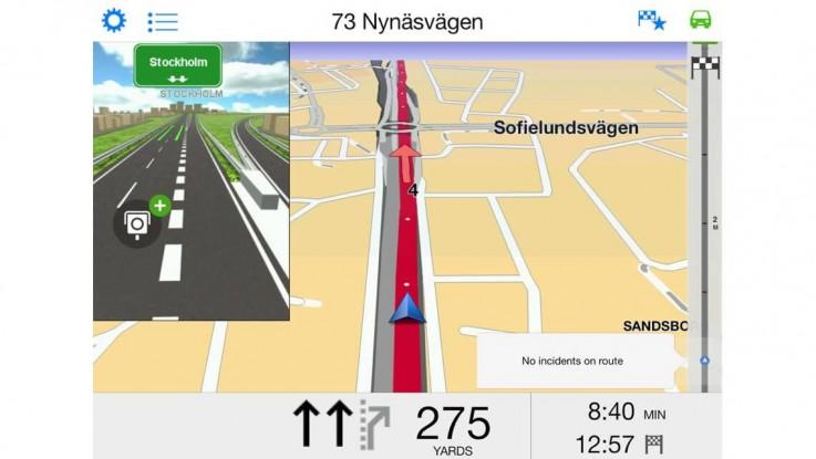 iPad-screenshot fra App Store.